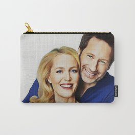 Gillian and David painting Carry-All Pouch