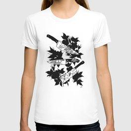 Multiple Floral Knives T-shirt