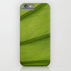 Green Leaf Texture 05 Slim Case iPhone 6s