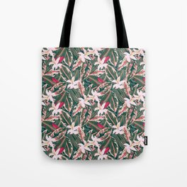 Crazy Tropical Plant Lady Tote Bag