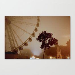 Sea Mist on the Plymouth Eye Canvas Print