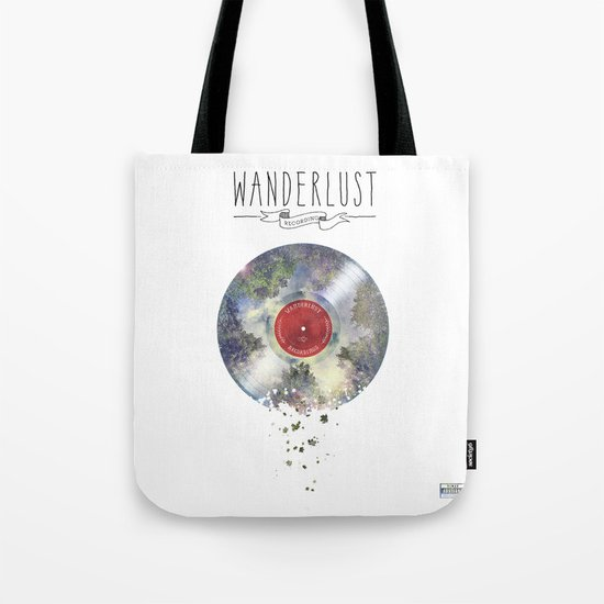 Wanderlust recordings Tote Bag