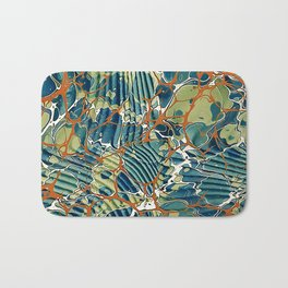Old Marbled Paper 05 Bath Mat