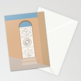 Doors of Oman #9 - Jebel Akhdar Stationery Cards