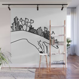 Succi Finger Wall Mural