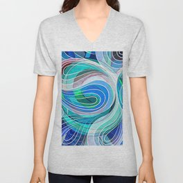 So Everything Is Created Imperfect Unisex V-Neck
