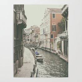 Venice canal, Italy Poster