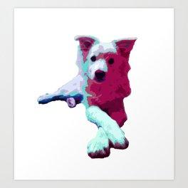 My Mister Ladypose Art Print