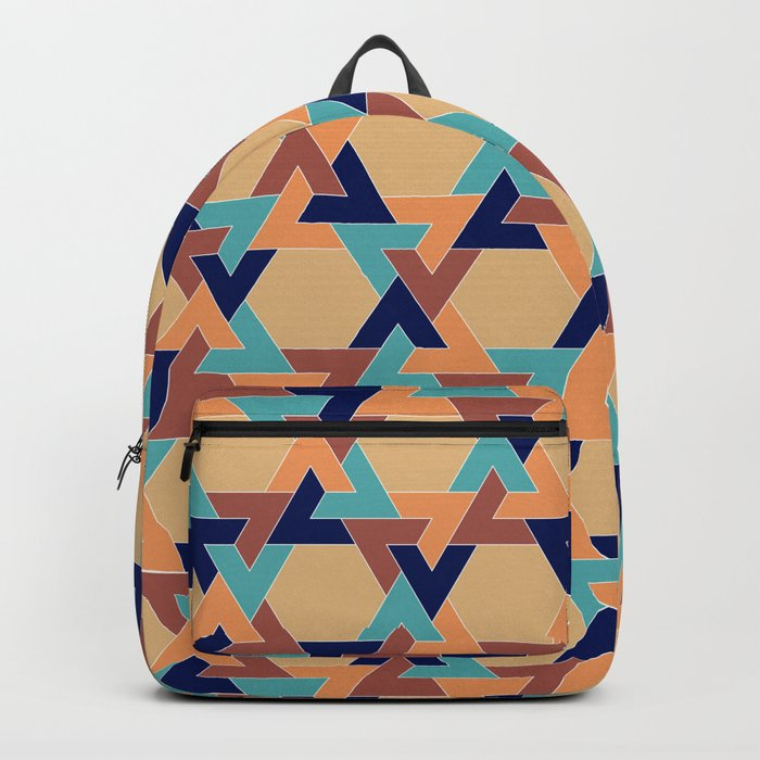 Geometric pattern 1977 Backpack