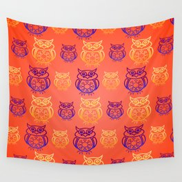 Owl Nation Wall Tapestry