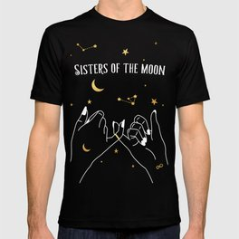 Sisters of The Moon Magical Witch Art T-shirt