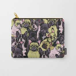 Social French Bulldog Carry-All Pouch