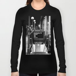 Christopher St. Station. West Village. New York, NY. 2014. Long Sleeve T-shirt