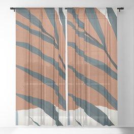 Abstract Art 35 Sheer Curtain