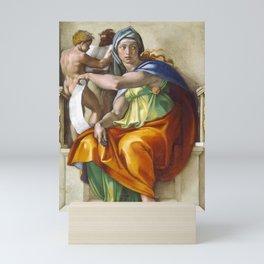 "Michelangelo ""Delphic Sibyl"" Mini Art Print"