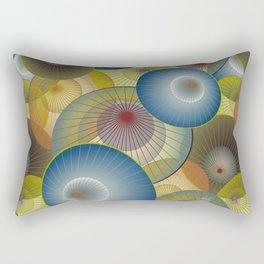 Kyoto Parasols 2 Rectangular Pillow