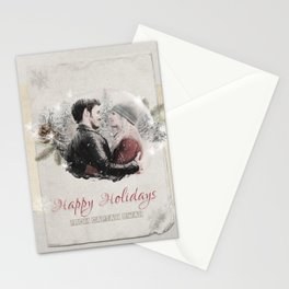 OUAT HAPPY HOLIDAYS // Captain Swan Stationery Cards