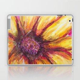 Cheery Yellow Flower Laptop & iPad Skin
