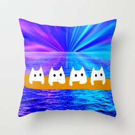 cat-160 Throw Pillow