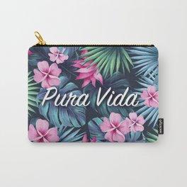 Pura Vida Floral Composition Carry-All Pouch