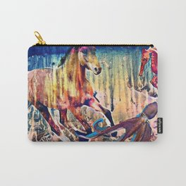 """Origins of the Sea Horse"" Carry-All Pouch"