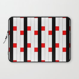 Tribute to mondrian 3- piet,geomtric,geomtrical,abstraction,de  stijl, composition. Laptop Sleeve