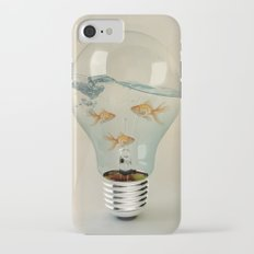 ideas and goldfish 03 iPhone 7 Slim Case