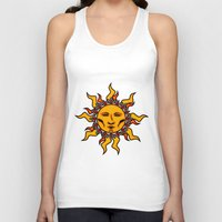 sublime Tank Tops featuring Sublime Sun #2 Psychedelic Character Design Logo by CAP Artwork & Design