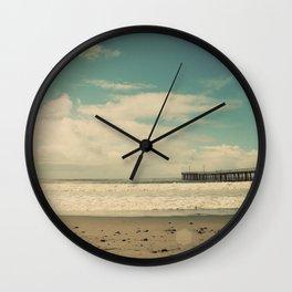 Cayucos Boardwalk Wall Clock