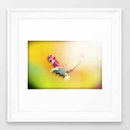 Flight Is To ____ As Much As It Is To Us Framed Art Print