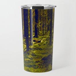 Green Forest #decor #society6 Travel Mug