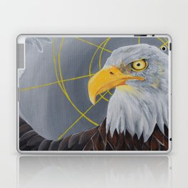 crazy eye eddie Laptop & iPad Skin