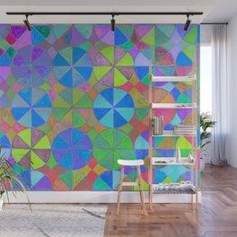 Rainbow Shard Wall Mural