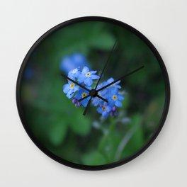 Myosotis Wall Clock