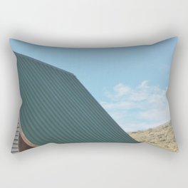 Cabin in the middle of the woods Rectangular Pillow