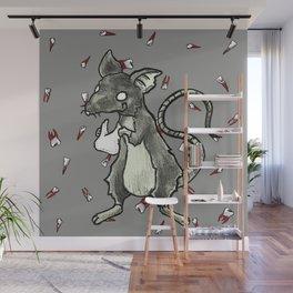 Dirty Rat bloody Teeth Wall Mural