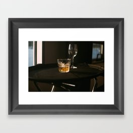 drink up Framed Art Print