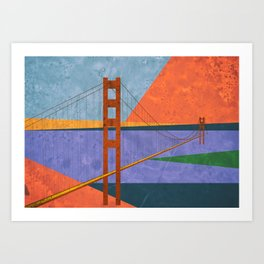 Golden Gate Bridge II Art Print