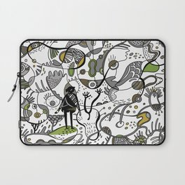 Amoeba World Laptop Sleeve