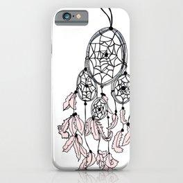 dream catcher pink iPhone Case