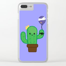 Cactus - Will be Okay Clear iPhone Case