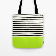 Electric Pineapple x Stripes Tote Bag