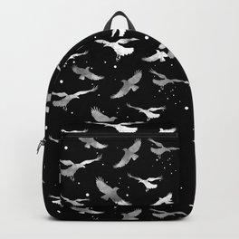 NOIR RAVEN PATTERN Backpack