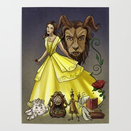 Belle and the Beast Poster