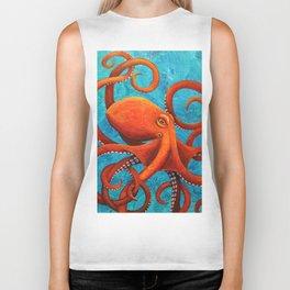 Holding On - Octopus Biker Tank
