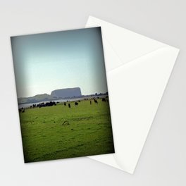 Grazing property in Tasmania Stationery Cards