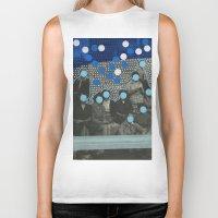 code Biker Tanks featuring Morse Code by Naomi Vona