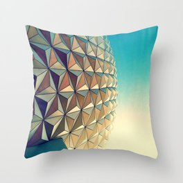 Epcot Throw Pillow
