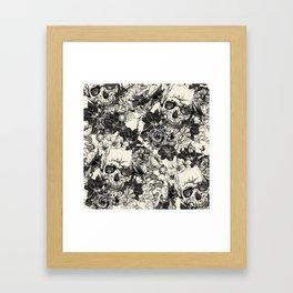 SKULLS 4 HALLOWEEN SKULL Framed Art Print
