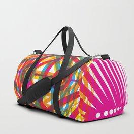4 Corners of Abundance (wide) Duffle Bag